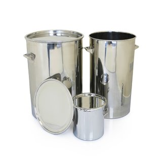 Stainless Storage Drums - 316L stainless steel