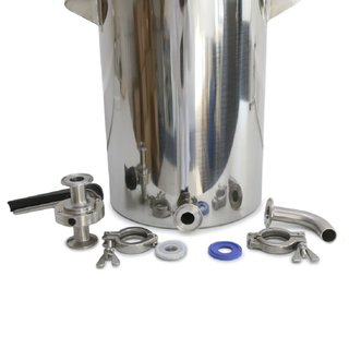 Stainless Steel Drum with 1 Ferrule