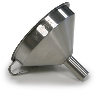 Industrial Funnel. 304ss. Straight Spout.